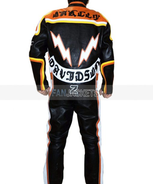 Harley Davidson and The Marlboro Man Leather Suit