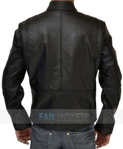 Black Iron Man Jacket