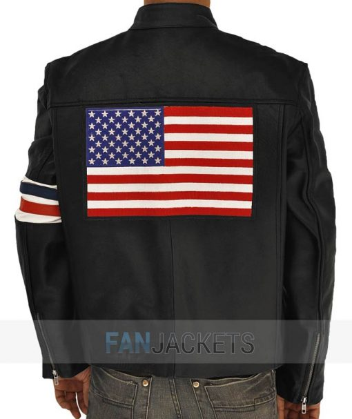 Easy Rider leather Jacket Captain America