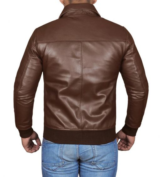 Fonzie real leather jackte