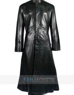 Matrix long Coat black