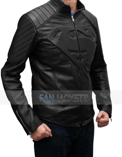Smallville Black Jacket