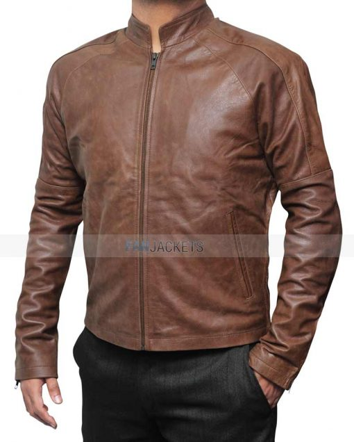Tome Cruise Brown Leather Jacket