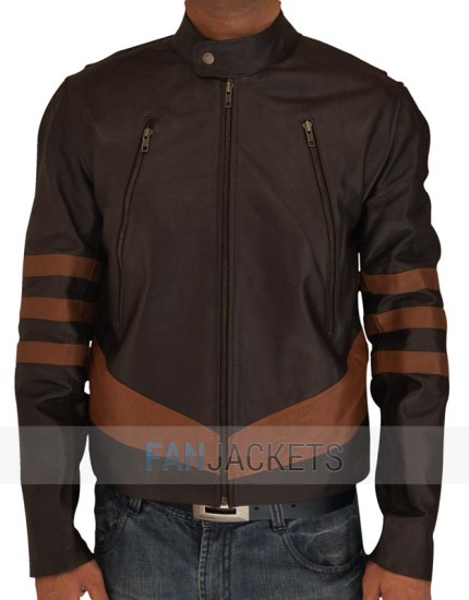 X Men Wolverine Leather jacket Logans