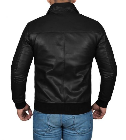 real leather jacket fonzie