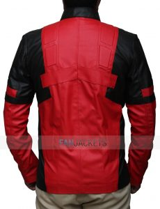 Red And Black Jacket Deadpool