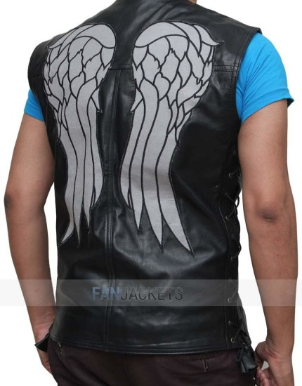 Walking Dead Angel Feather vest