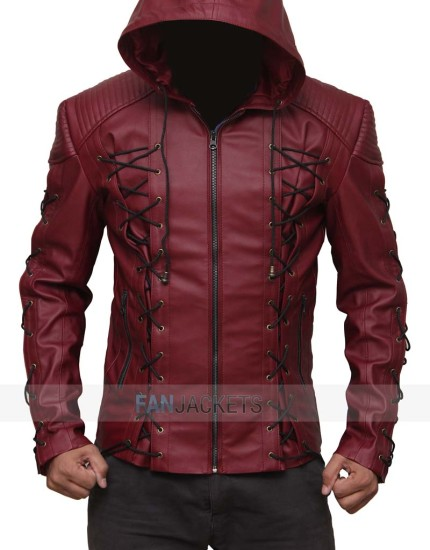 Red Hood Jacket Arrow Arsenal