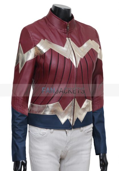 Wonder Woman Logo Jacket