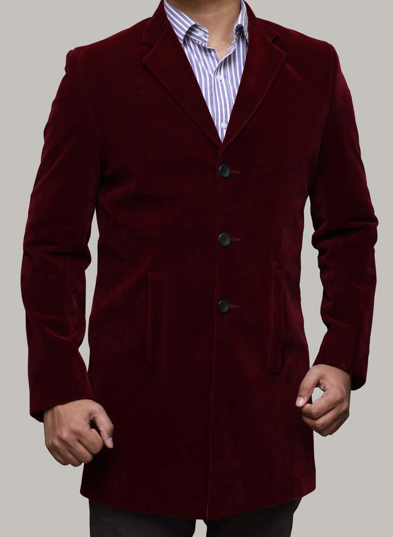 12th Doctor Maroon Coat