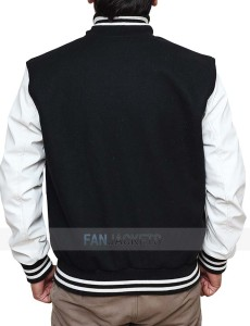 Black and White High School Jacket