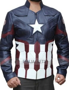 Captain America Civil War Leather Jacket