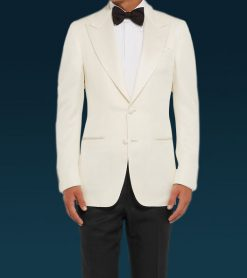 James Bond White Dinner Tuxedo Suit