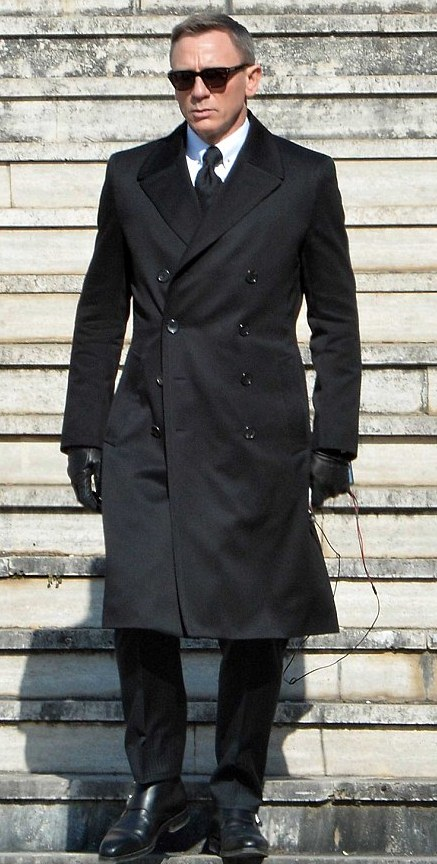James_bond_Spectre_Cotton_Doucble Breasted Coat