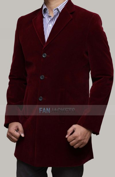 Maroon 12th Doctor Coat
