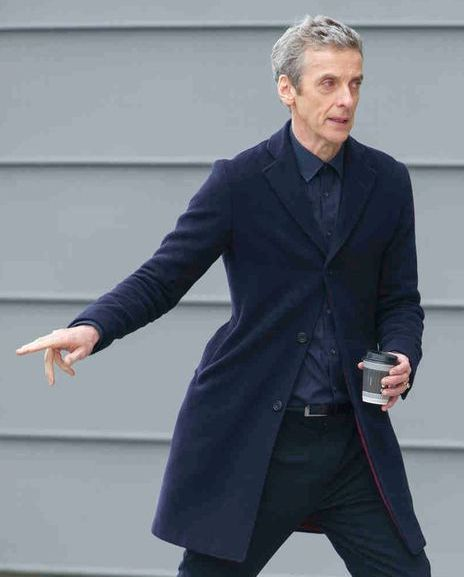 Peter Capaldi 12th Doctor Who Coat