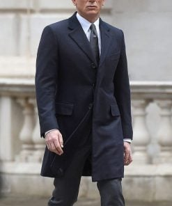 Spectre James Bond Navy Coat