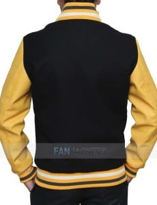Yellow And Black Varsity Jacket