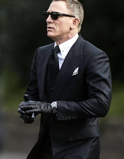 James Bond Spectre Navy Suit
