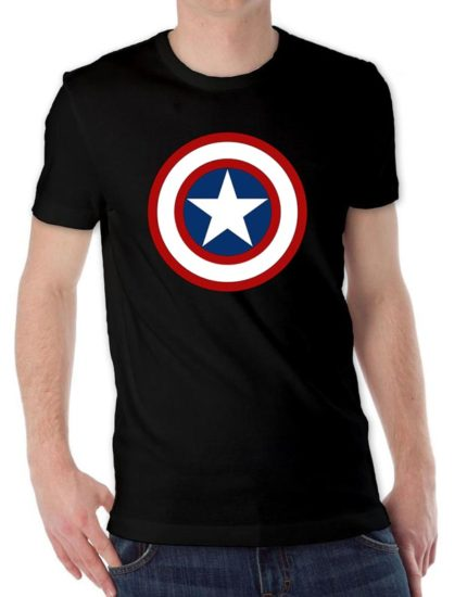 Captain-America-Logo-T-Shirt