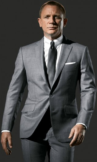 Skyfall Suit Grey