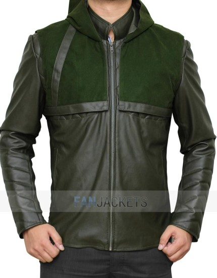 Stephen Amell Arrow Jacket