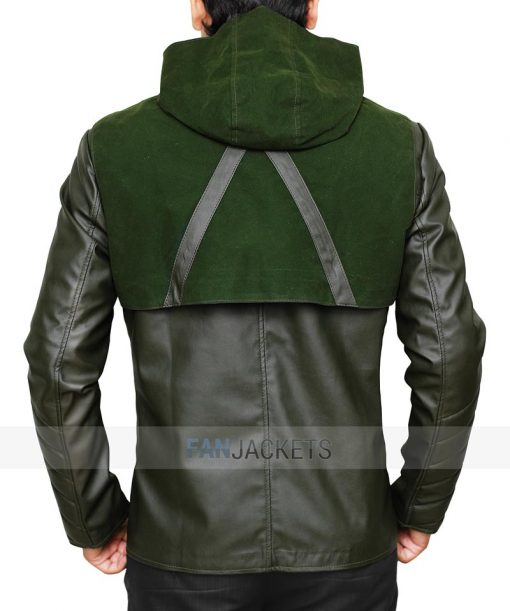 Stephen Amell Hooded Jacket