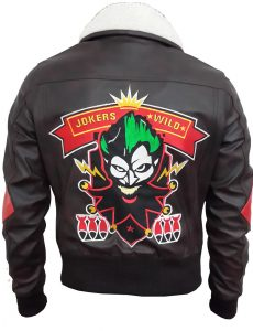 Bombshell-Harley-Quinn-Bomber-Leather-Jacket