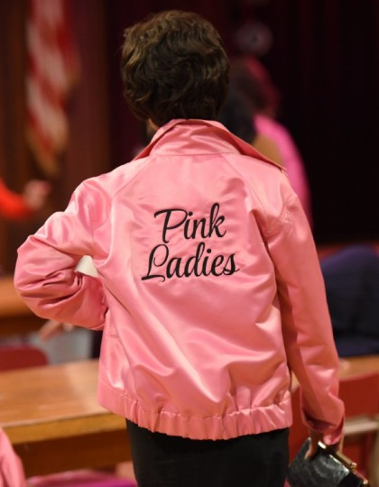 Grease Live Ladies Pink Jacket