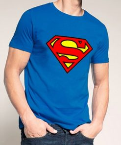 Superman Blue T Shirt