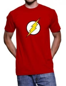 The Flash Logo Red T-Shirt For Mens
