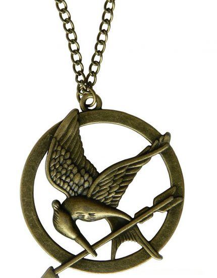 Hunger Games Bird Arrow Necklace