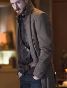 Legends Of Tomorrow Rip Hunter Brown Trench Coat