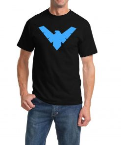 Black Nightwing Logo T-Shirt
