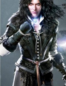 The Witcher 3 Wild Hunt Yennefer Leather Vest