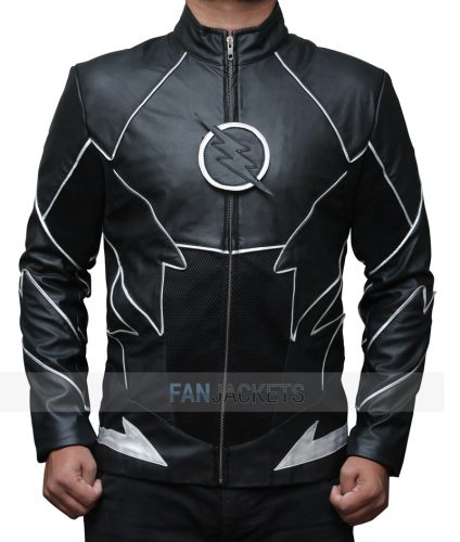 Zoom Flash Black  Jacket
