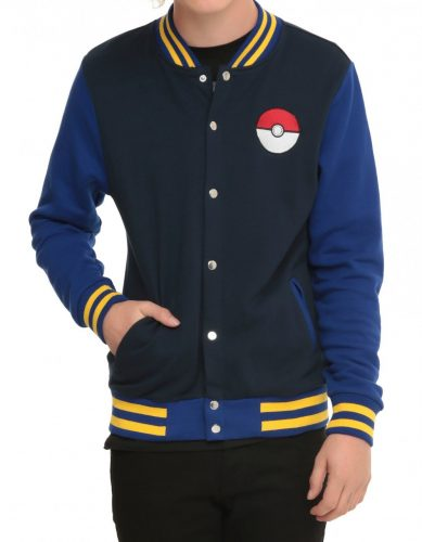Pokemon Go Jacket Varsity