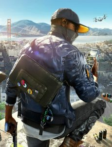 Watch Dogs 2-Blue Bomber Jacket