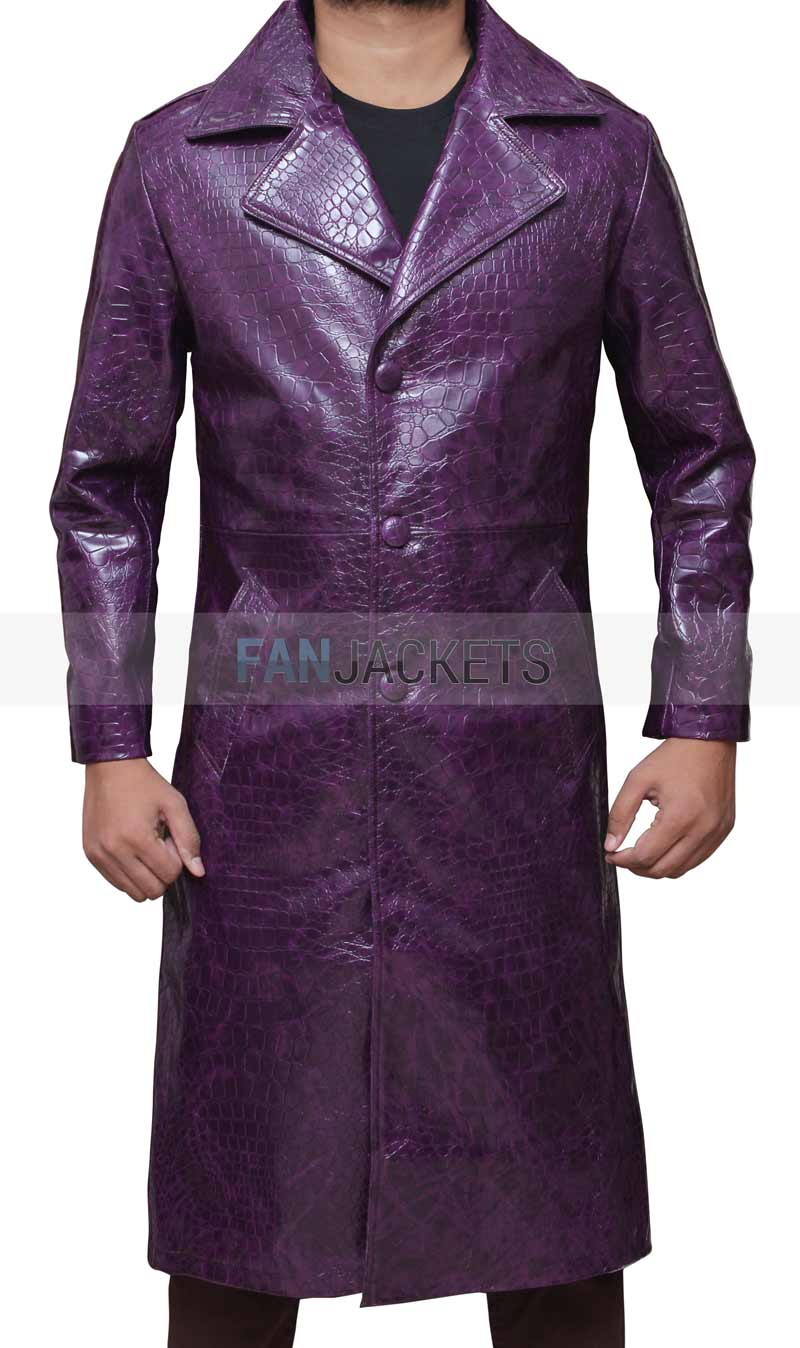 Joker Leather Coat