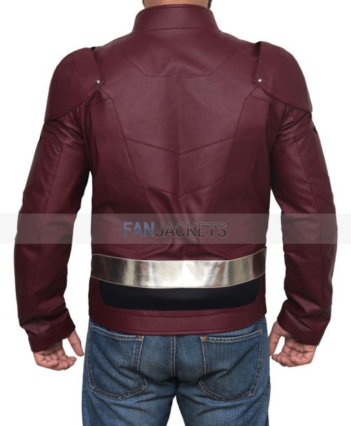 Justice League Leather Jacket
