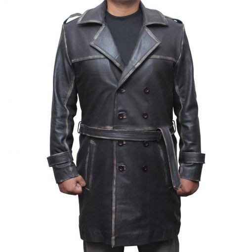 Watchmen Roschach Trench Coat