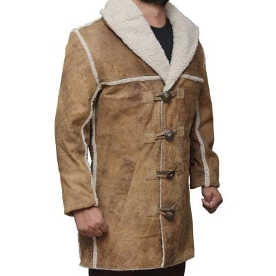 Hell On Wheels Shearling Coat