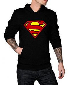 small ville black superman hoodie