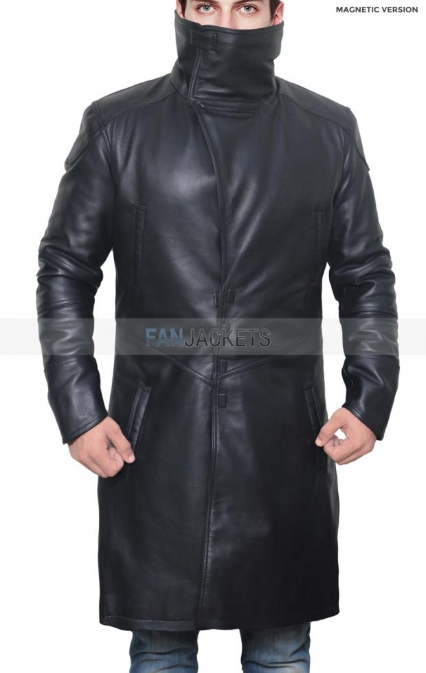 Blade Runner Ryan Gosling Leather Coat Officer K
