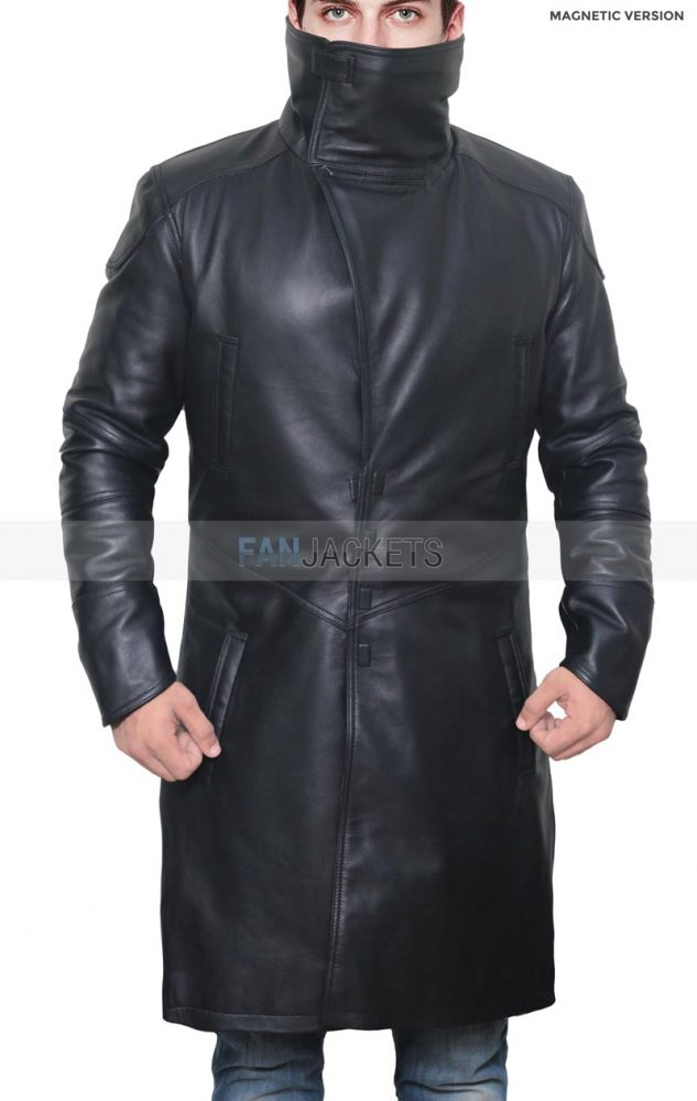 Blade Runner Ryan Gosling Leather Coat