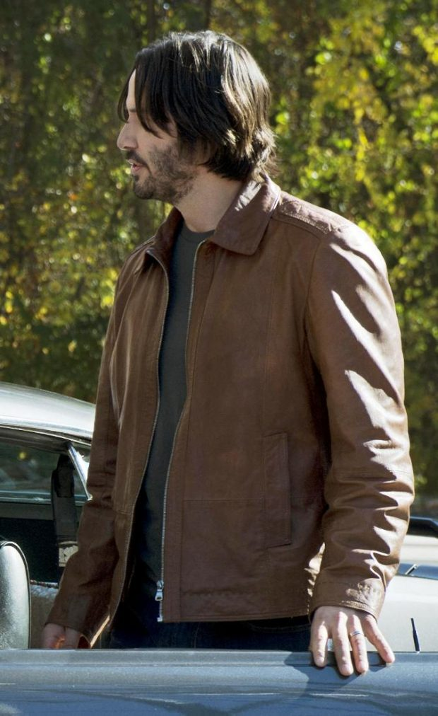 Brown John Wick Leather Jacket