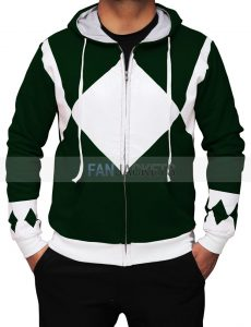 green power rangers sweatshirt