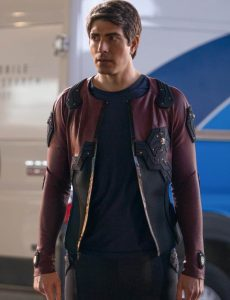Ray Palmer Leather Jacket