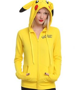 Pokemon Girls Pikachu Costume Hoodie