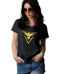 Pokemon Go Team Instinct Womens T-Shirt